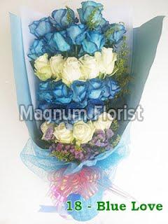 Jual Bunga Mawar Biru