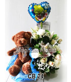 Rangkaian Bunga Untuk Bayi Laki Laki