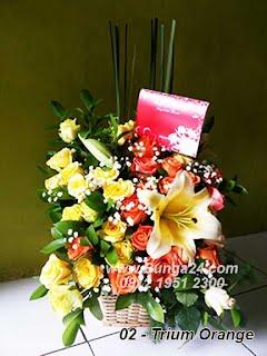 Bunga Rangkaian Bagus
