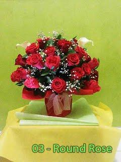 Bunga Mawar Merah Untuk Valentine