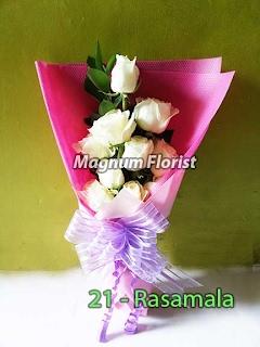 Bunga Valentine Mawar Putih