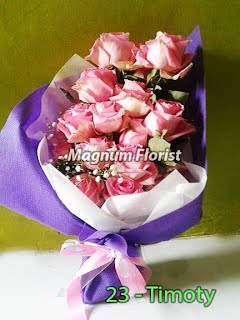 Bunga Mawar Pink Valentine