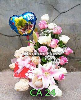 Bunga Untuk Bayi Baru Lahir