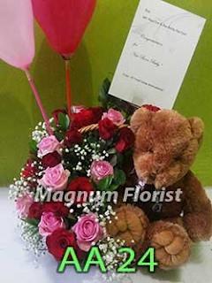 Bunga ucapan untuk Bayi