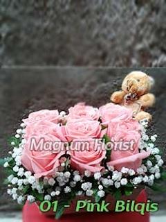 Bunga Mawar Pink Untuk Hadiah Valentine